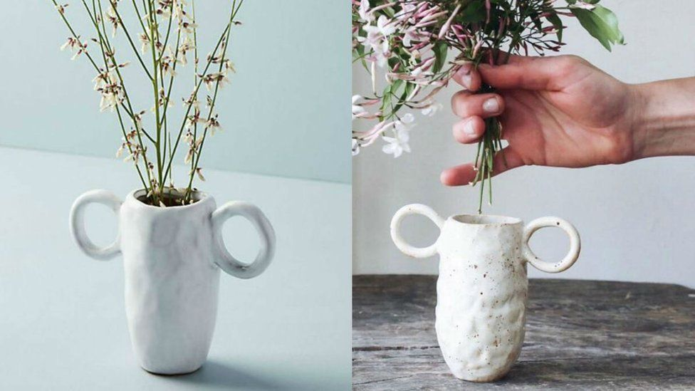 A comparison of two vases
