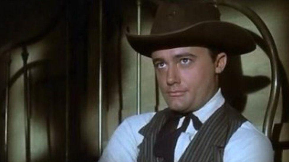 Robert Vaughn in The Magnificent seven