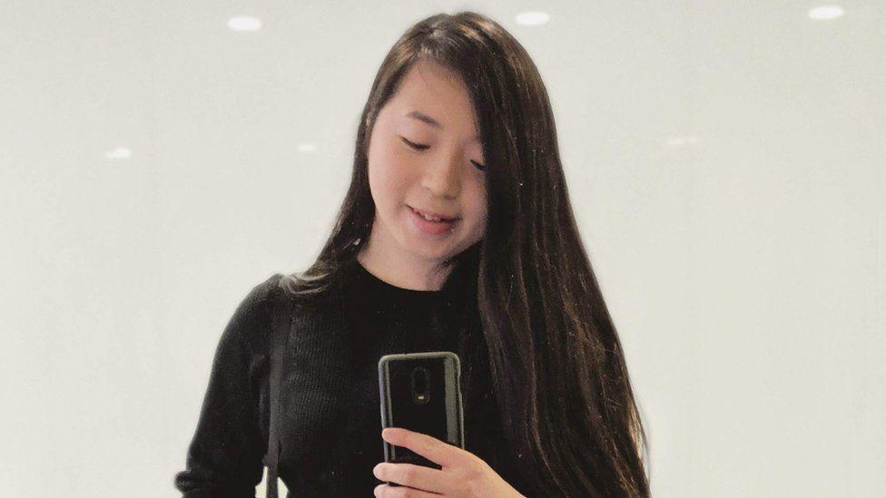 Jane taking a selfie