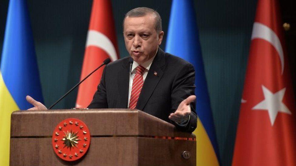 Turkish President Recep Tayyip Erdogan. Photo: 9 March 2016
