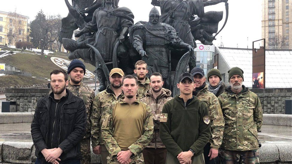 International recruits in Ukraine