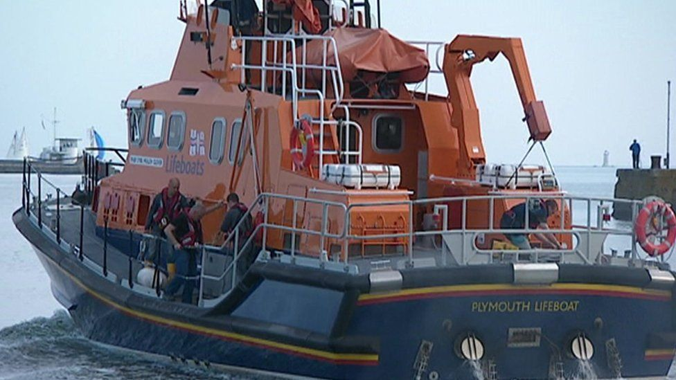 Plymouth lifeboat