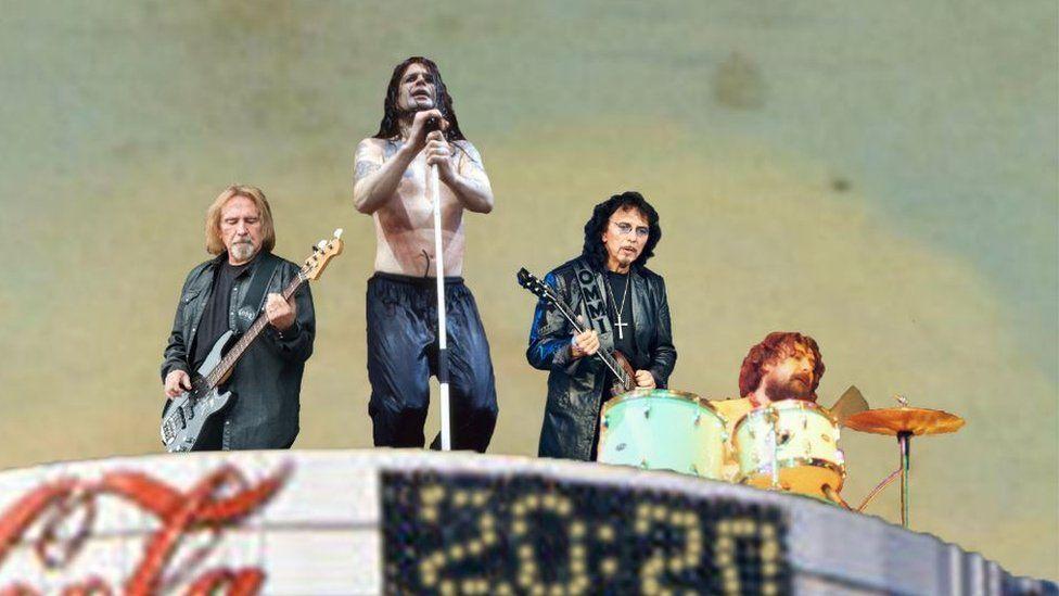 Black Sabbath close up