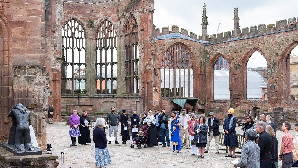 Interfaith service in Coventry
