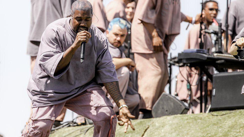 Kanye's Sunday service
