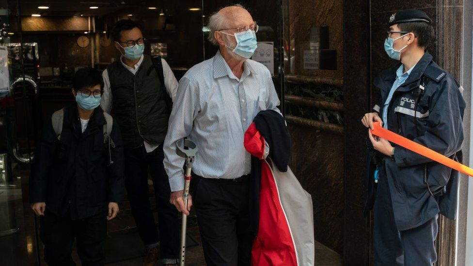 John Clancey, American lawyer arrested in Hong Kong