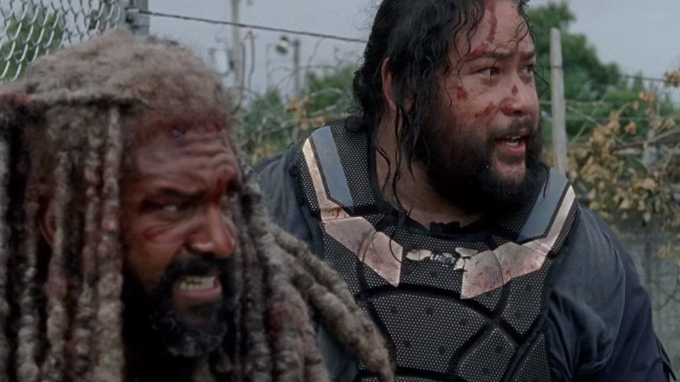 Khary Payton and Cooper Andrews
