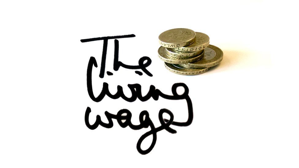 The Living Wage of £9