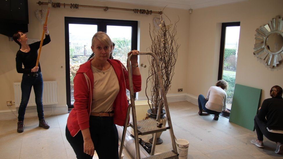 Pam Webb and her team of beauty therapists at Truffle Lodge spa