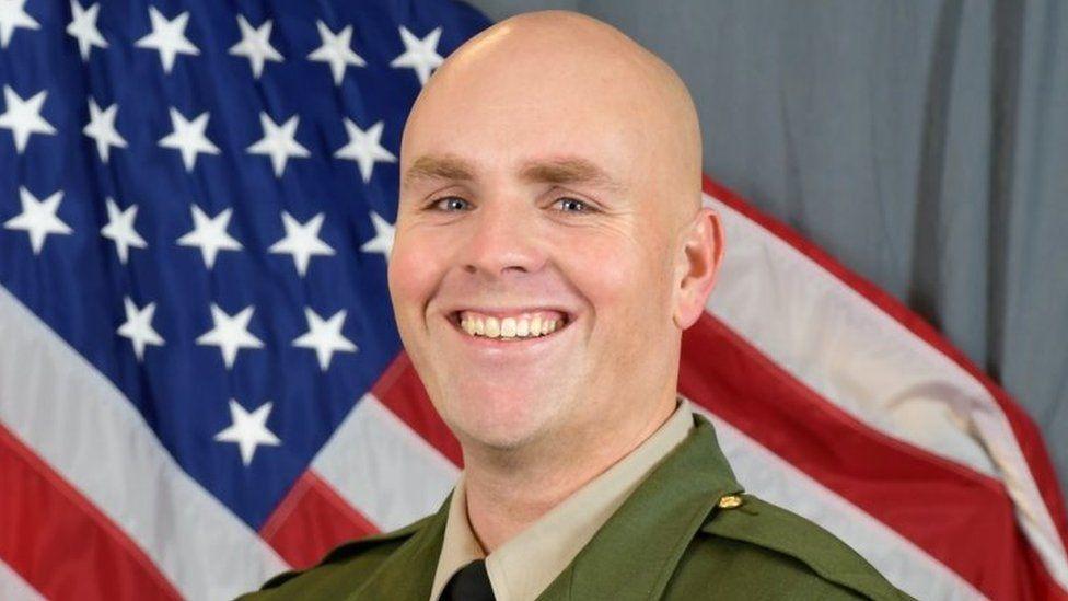 Deputy Sheriff Sgt. Damon Gutzwiller who died 6 June 2020