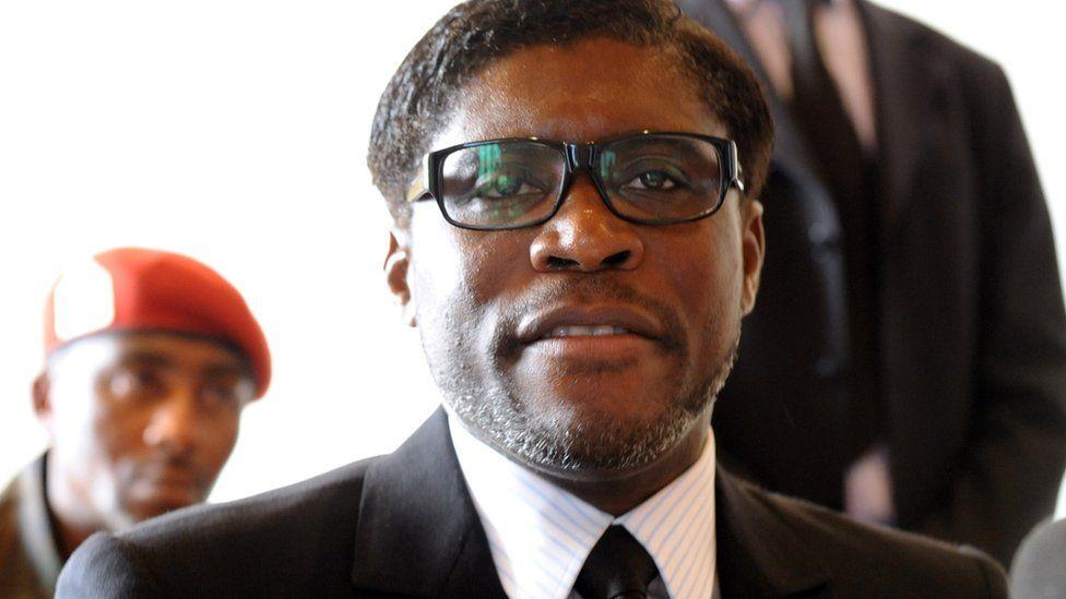 Teodoro Nguema Obiang Mangue in Equatorial Guinea in 2012