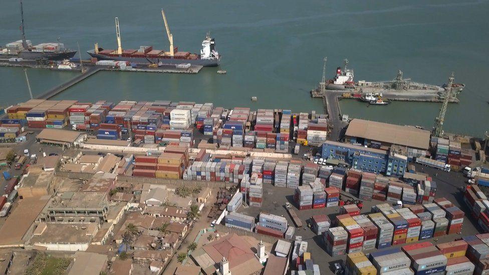 Banjul Port