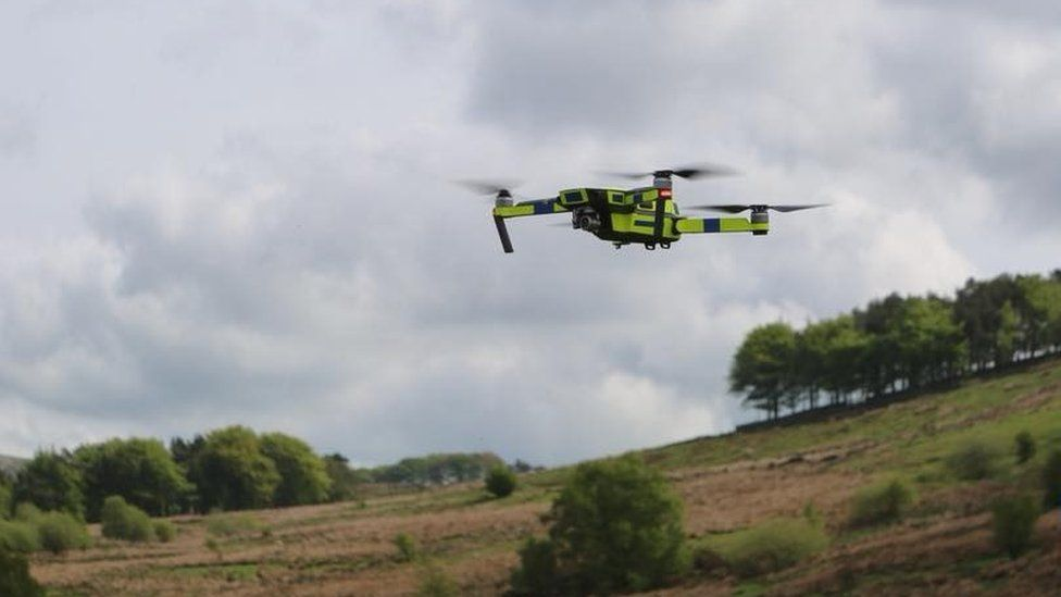 Buxton Mountain Rescue to use drones to search for missing people