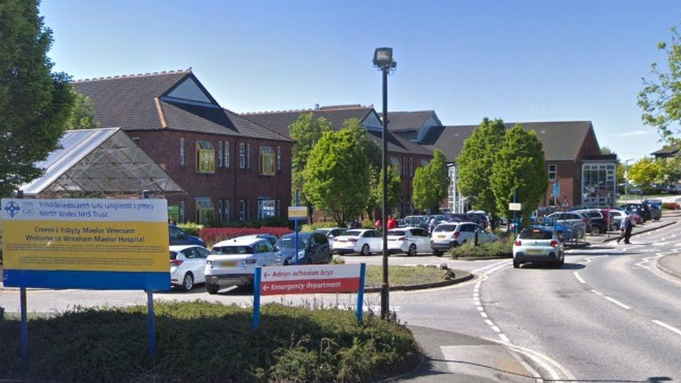 Wrexham hospital isolation facilities 'not fit for purpose'