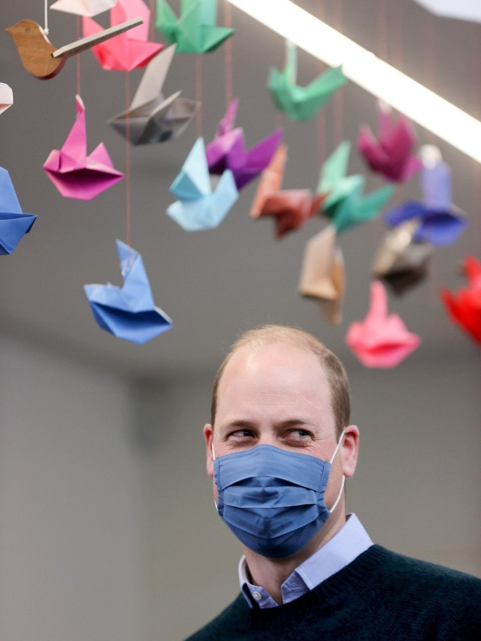 Prince William at the Grassmarket Community Project