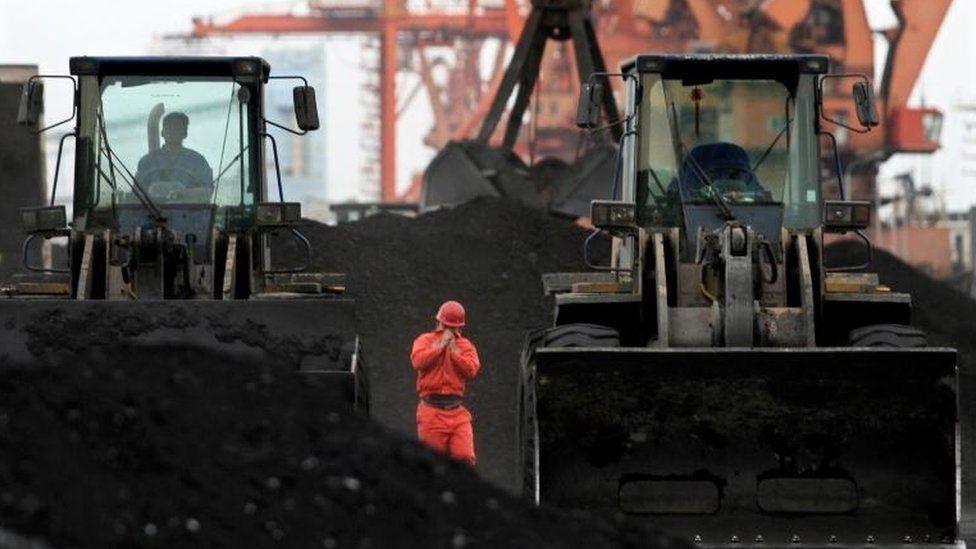North Korean coal in China