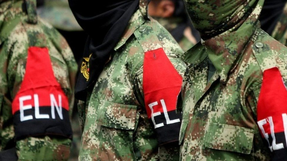 Members of the National Liberation Army (ELN)