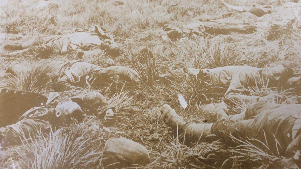Boer War dead