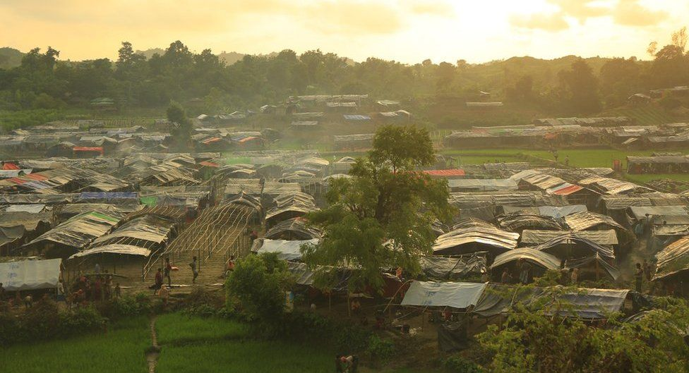 Resources are stretched at the refugee camps in Bangladesh, where thousands have arrived on foot or by boat
