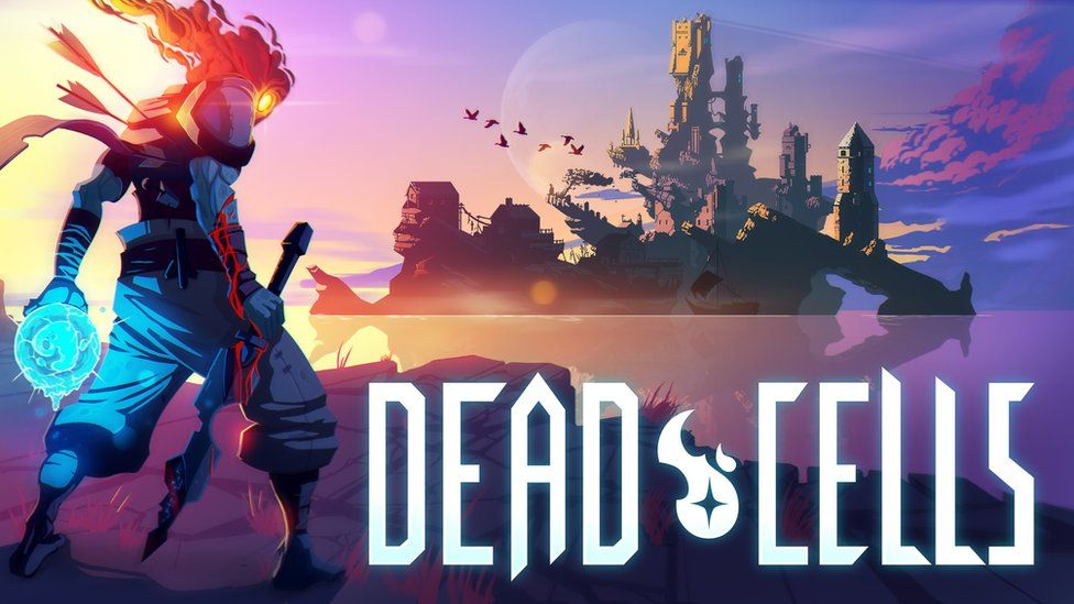 Artwork advertising the video game Dead Cells.