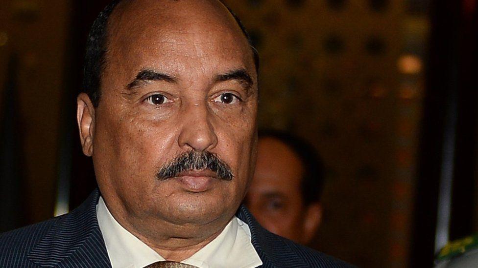 Mauritanian President Mohamed Ould Abdelaziz