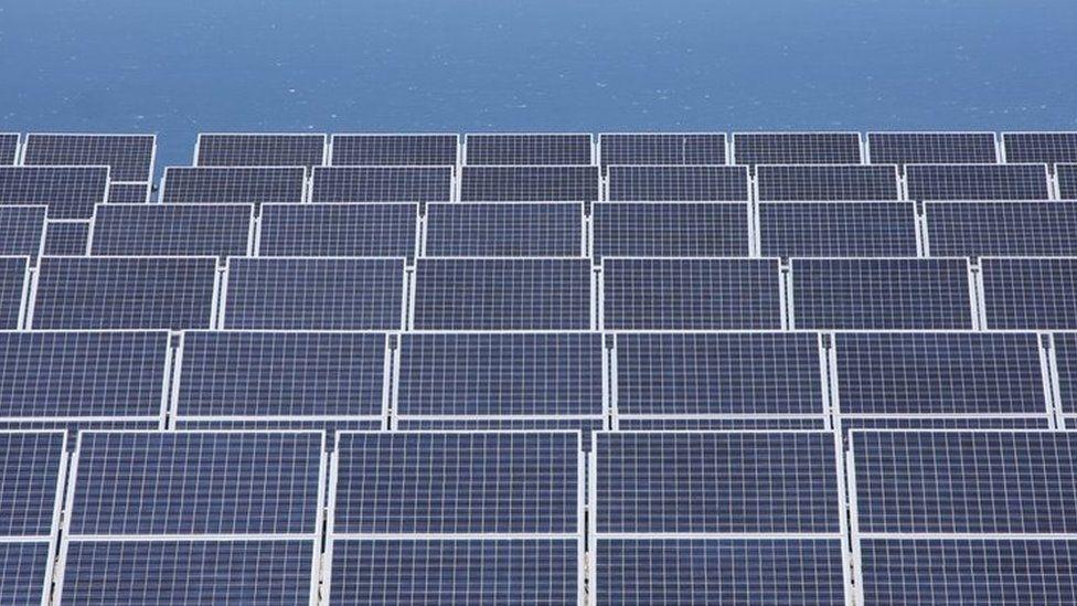 Solar panels. File photo
