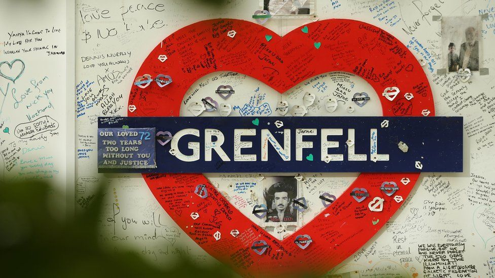 Grenfell as a tube symbol