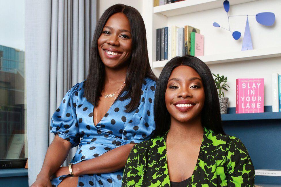 Elizabeth Uviebinené (left) and Yomi Adegoke