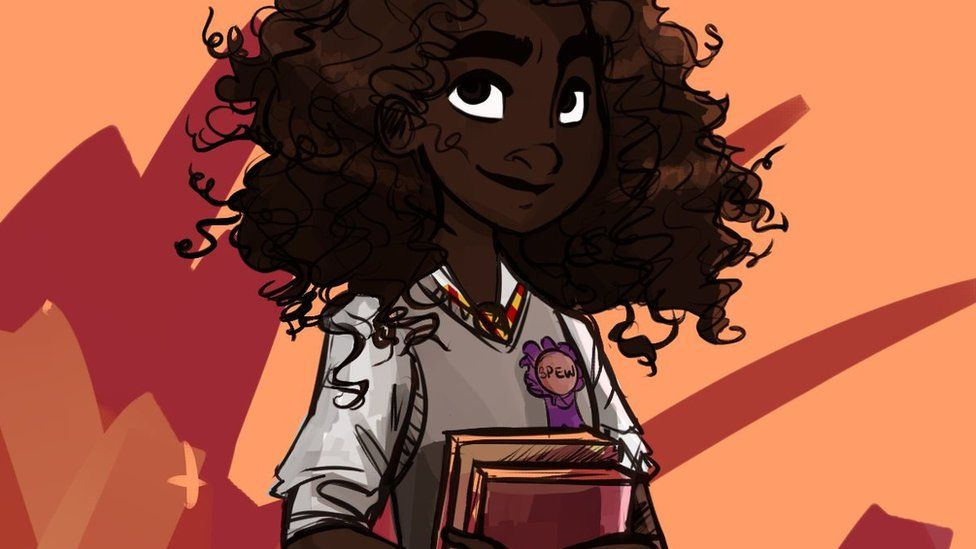 Dellbelle39 is one of the artists whose images of Hermione have been widely shared