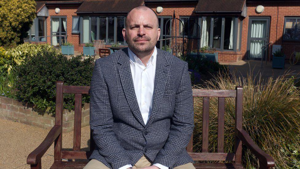 Chief executive Mark Jarman-Howe
