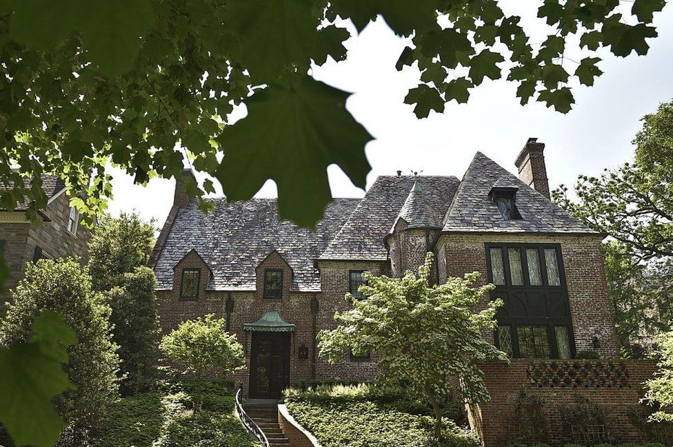 Obama has not yet spent much time yet in his post-White House home in Washington