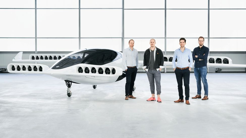 Five seater self-flying air taxi unveiled