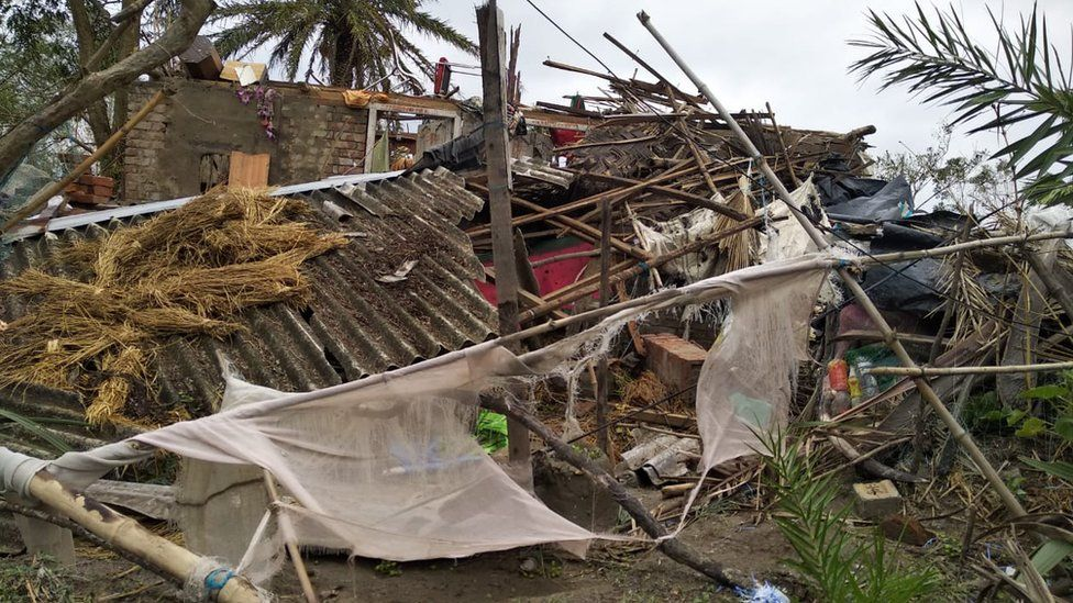 Cyclone leaves a trail of destruction in the Sundarbans