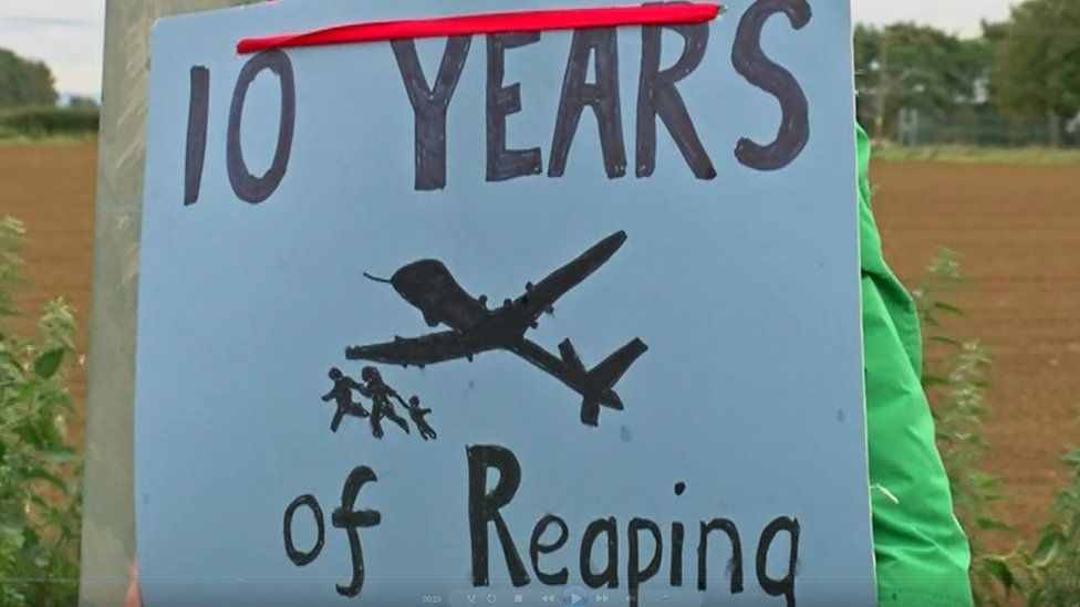 10 Years of Reaping sign