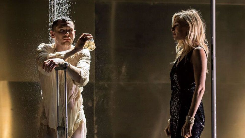 Jack O'Connell and Sienna Miller in Cat on a Hot Tin Roof