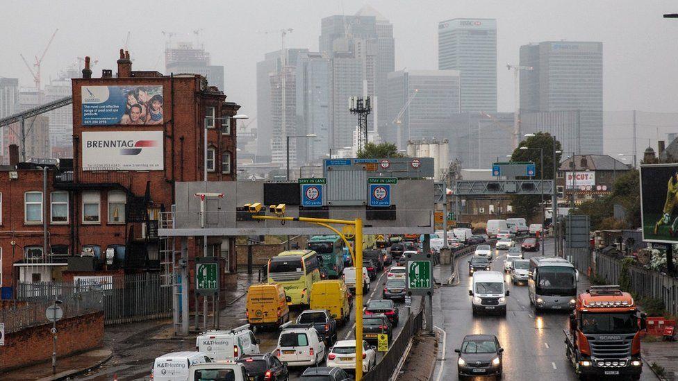 Rush hour London