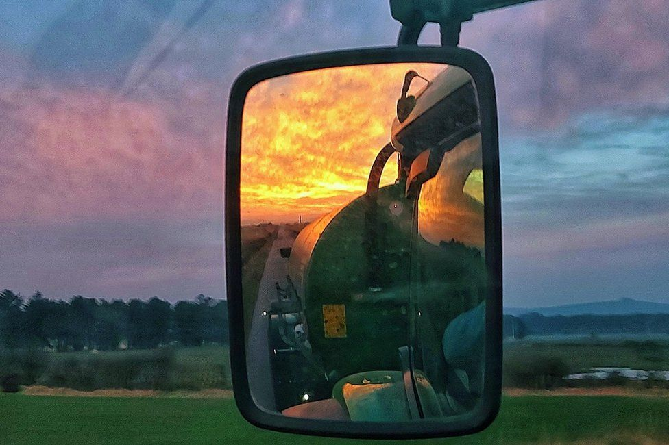 Stranraer sunset