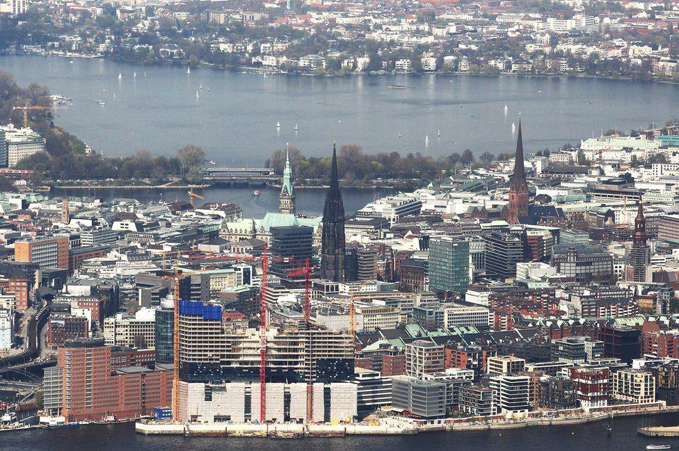 Hamburg - city view