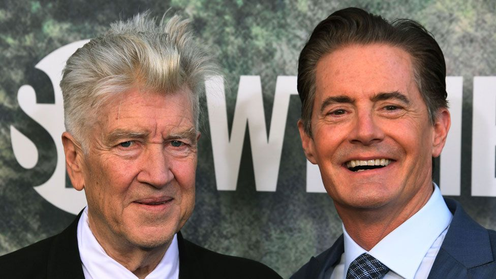David Lynch and Kyle MacLachlan