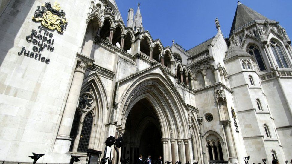 The Royal Courts of Justice in The Strand, London