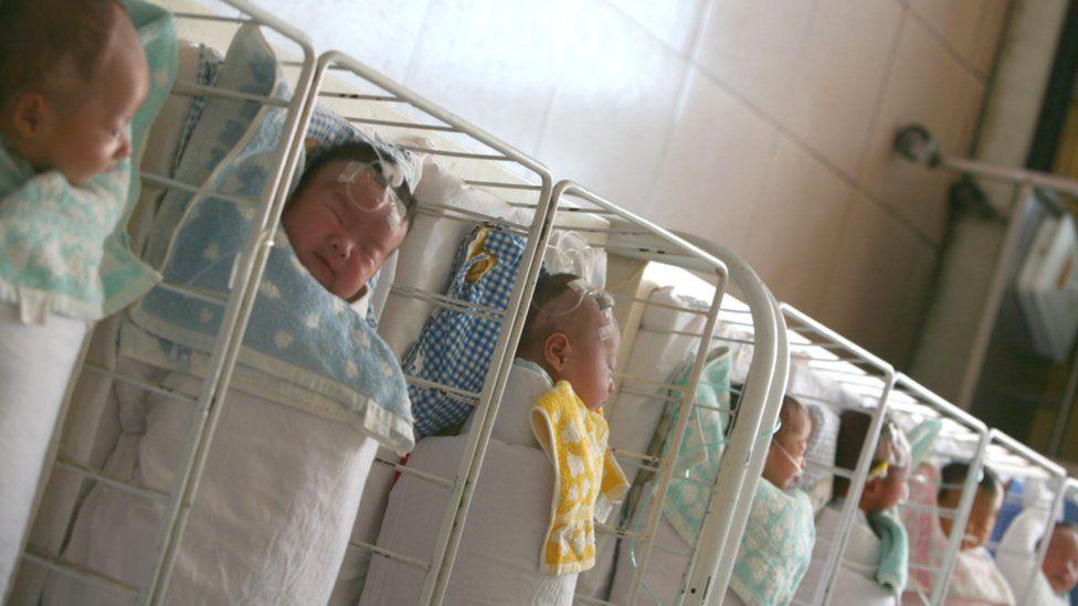 Chinese baby ward