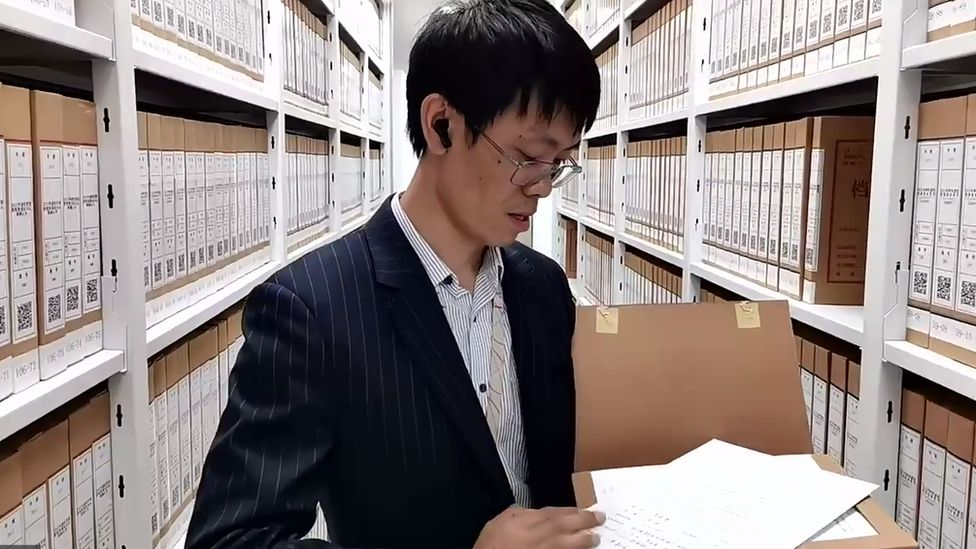 The records vault of Huawei shareholders
