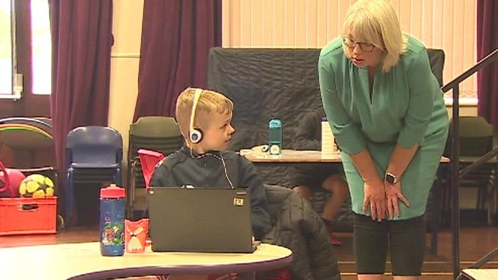 Head teacher Eirlys Edwards said it has presented challenges