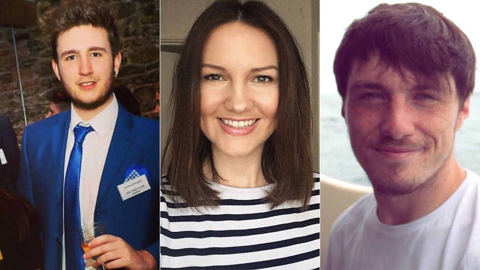 Profiles of Josh Vaughan, Karen Jones and Jeffrey Evans