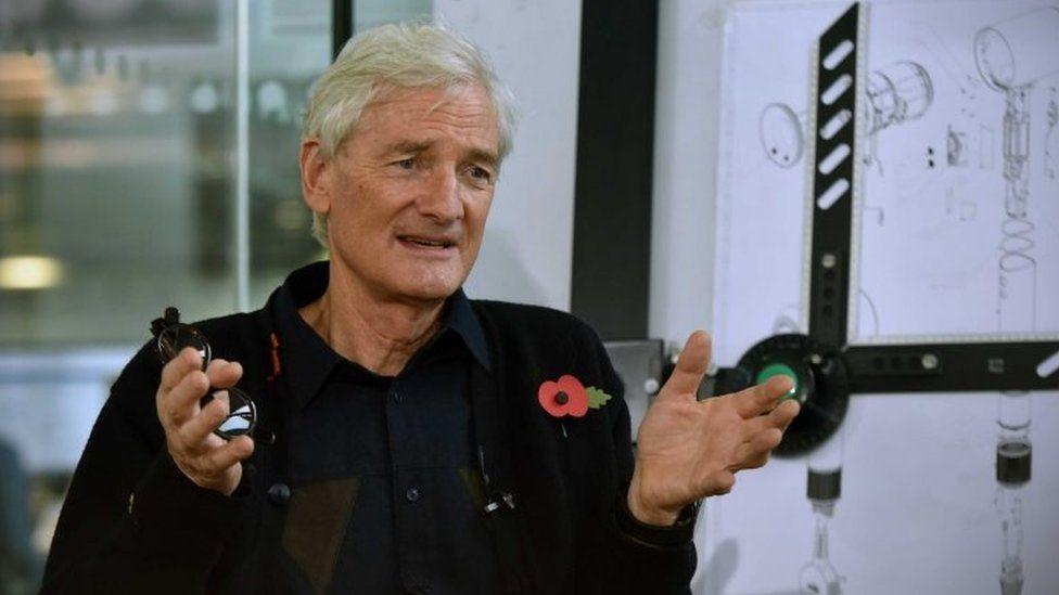 Sir James Dyson (file pic)