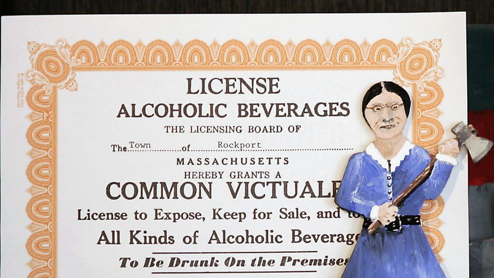 A liquor license granted by the town of Rockport, Massachusetts