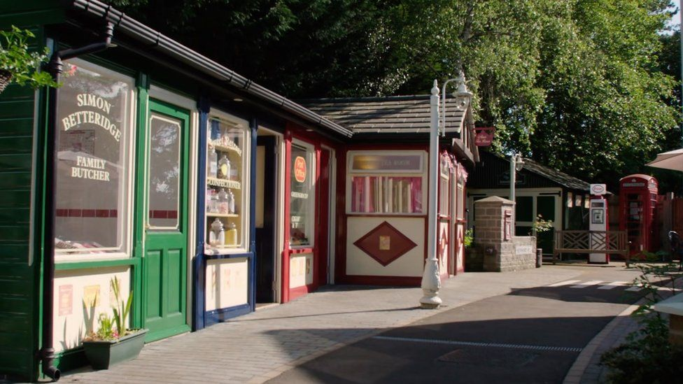 The care home that built a replica High Street