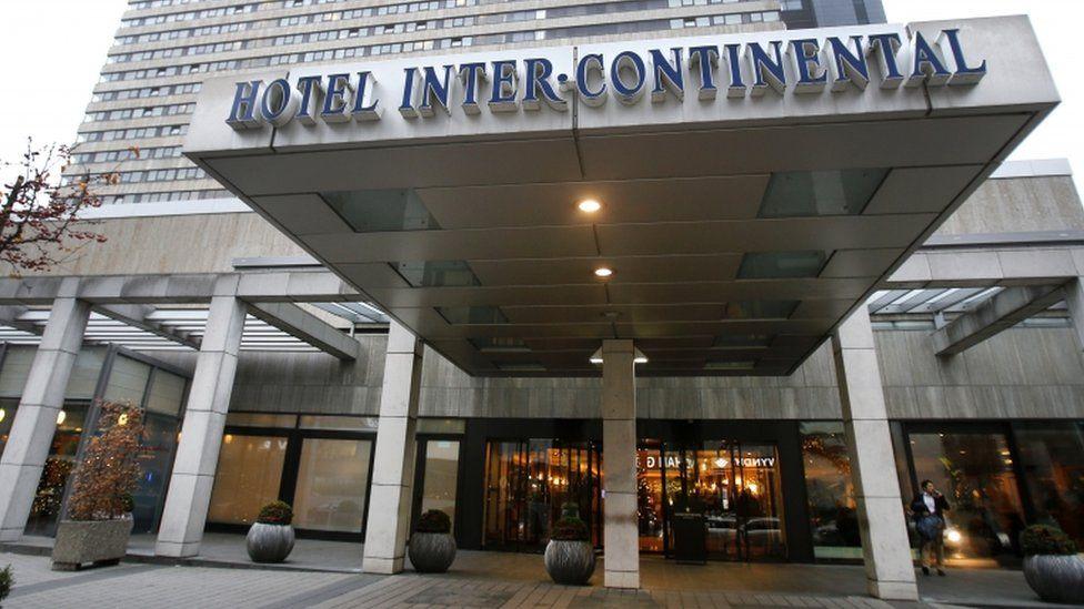 Hotel InterContinental in Frankfurt