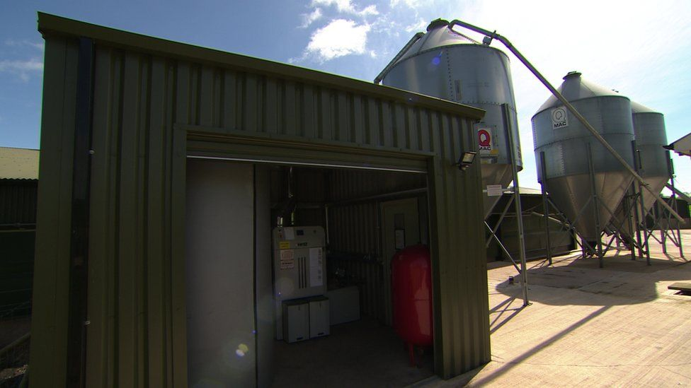 Many of the boilers are in agriculture businesses including poultry
