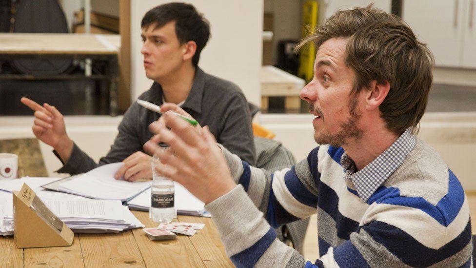 Joe Robertson (left) and Joe Murphy (right)
